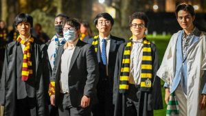 Dover College held a Harry Potter week for boarders